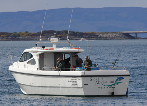 Skye tours deals isle of skye for Sea spirit fishing